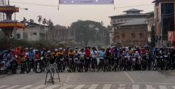 Bikers ready for race